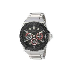 ゲス GUESS メンズ 腕時計 u1305g1 Silver-Tone/Black fermart2-store