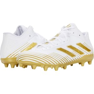 アディダス adidas メンズ アメリカンフットボール シューズ・靴 Freak Ghost 20 Footwear White/Gold Metallic/Footwear White|fermart2-store