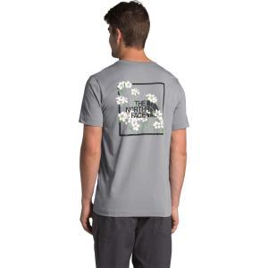 ザ ノースフェイス The North Face メンズ Tシャツ トップス Himalayan Bottle Source Short Sleeve Tee Meld Grey fermart2-store
