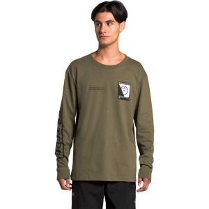 ザ ノースフェイス The North Face メンズ 長袖Tシャツ トップス Steep Tech Long Sleeve Tee Burnt Olive Green fermart2-store