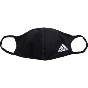 アディダス adidas メンズ 雑貨 3点セット デザインマスク ブランド Badge of Sport Face Cover 3-Pack Black|fermart2-store