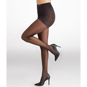 カルバンクライン レディース タイツ・ストッキング インナー・下着 Calvin Klein Hosiery Sheer Essentials Active Sheer Control Top Pantyhose Black fermart2-store