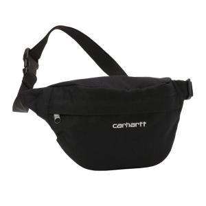 【即納】カーハート Carhartt WIP ユニセックス ボディバッグ・ウエストポーチ バッグ Payton Black/White Hip Bag black|fermart2-store