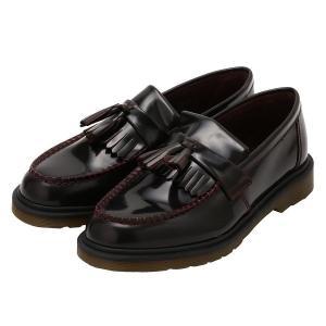 【即納】ドクターマーチン Dr. Martens メンズ 革靴・ビジネスシューズ シューズ・靴 ADRIAN PW ARCADIA SHOES Cherry Red fermart2-store