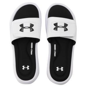 【即納】アンダーアーマー UNDER ARMOUR メンズ サンダル シューズ・靴 UA M Ignite V SL  White|fermart2-store