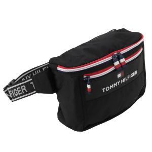 【即納】トミー ヒルフィガー Tommy Hilfiger ユニセックス ボディバッグ・ウエストポーチ バッグ TH CITY TREK 2 BLACK|fermart2-store