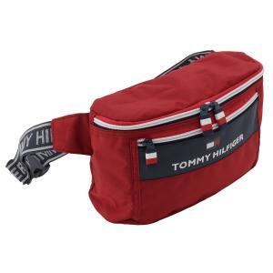【即納】トミー ヒルフィガー Tommy Hilfiger ユニセックス ボディバッグ・ウエストポーチ バッグ TH CITY TREK 2 TOMMY RED|fermart2-store