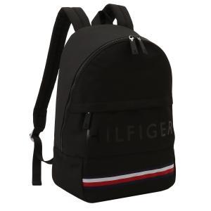 【即納】トミー ヒルフィガー Tommy Hilfiger ユニセックス バックパック・リュック バッグ Colton - Backpack - Cordura Nylon BLACK コーデュラ 通勤 通学|fermart2-store