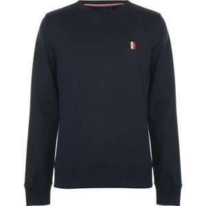 トミー ヒルフィガー Tommy Hilfiger メンズ スウェット・トレーナー トップス Icon Badge Crew Sweater Sky Captain|fermart3-store