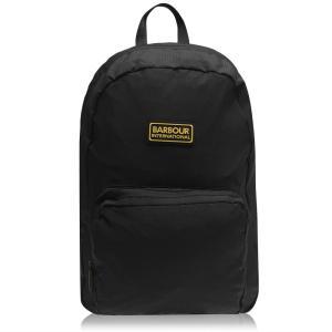 バーブァー Barbour International メンズ バックパック・リュック バッグ Barbour Ripstop Backpack Black BK|fermart3-store