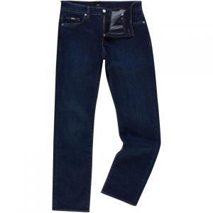 ヒューゴ ボス Boss Black メンズ ジーンズ・デニム ボトムス・パンツ Delaware Dark Wash Slim Fit Jeans Denim Dark Wash|fermart3-store