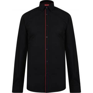ヒューゴ ボス HUGO メンズ トップス Slim Fit Shirt Black|fermart3-store
