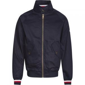 トミー ヒルフィガー Tommy Hilfiger メンズ ジャケット アウター Icon Harrington Jacket Navy|fermart3-store