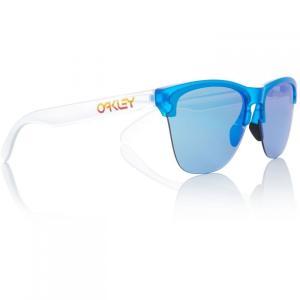 オークリー Oakley レディース メガネ・サングラス Black Oo9374 Round Sunglasses Blue|fermart3-store