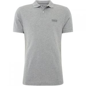 バーブァー Barbour International メンズ ポロシャツ トップス B.Int Essentl Polo Sn84 Grey|fermart3-store