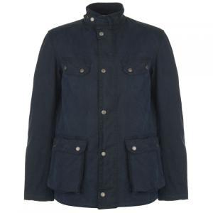 バーブァー Barbour International メンズ ジャケット アウター Barbour Caxton Jacket Washed Navy|fermart3-store