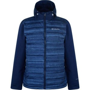 コロンビア Columbia メンズ フリース トップス Hybrid Fleece Jacket Collegiate Navy|fermart3-store