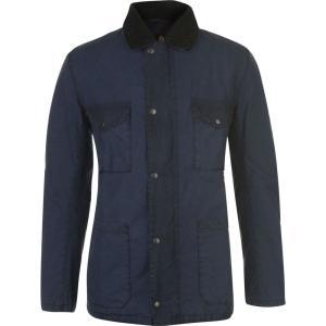 バーブァー Barbour International メンズ ジャケット アウター Barbour Lawtell Wax Jacket Royal Navy|fermart3-store