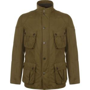 バーブァー Barbour International メンズ ジャケット アウター Barbour Lockseam Heritage Jacket Dark Sand|fermart3-store