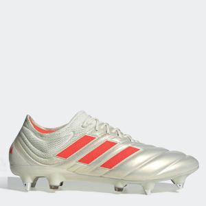 アディダス adidas メンズ サッカー ブーツ シューズ・靴 Copa 19.1 SG Football Boots White/SolarRed|fermart3-store
