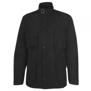 バーブァー Barbour International メンズ ジャケット アウター Barbour Weir Casual Jacket Black|fermart3-store