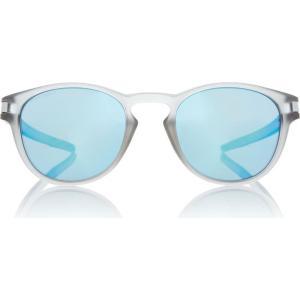 オークリー Oakley レディース メガネ・サングラス Grey LATCH Oval Sunglasses Grey|fermart3-store