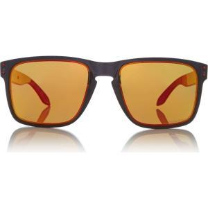 オークリー Oakley レディース メガネ・サングラス Black Holbrook XI Oo9417 Square Sunglass Black|fermart3-store