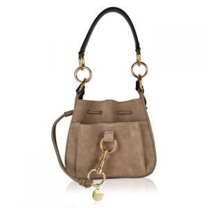 クロエ See By Chloe レディース バッグ Tony Small Bucket Bag Motty Grey W|fermart3-store