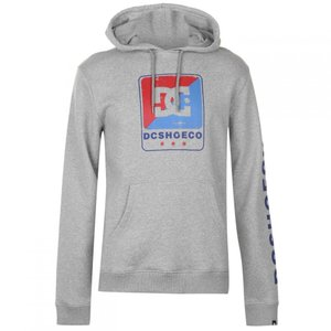 ディーシー DC メンズ パーカー トップス Stevenson Hoodie Grey Heather|fermart3-store