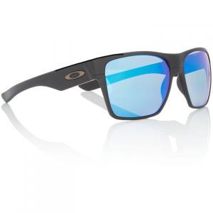 オークリー Oakley レディース メガネ・サングラス Black TWOFACE XL Square Sunglasses Black|fermart3-store