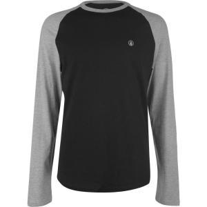 ボルコム Volcom メンズ 長袖Tシャツ トップス pen bsc ls t-shirt Heather Grey|fermart3-store