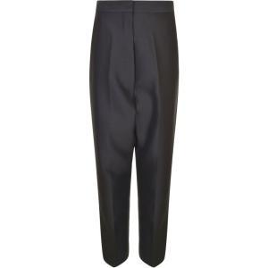 セリーヌ CELINE レディース ボトムス・パンツ Turn Up Trousers Black fermart3-store