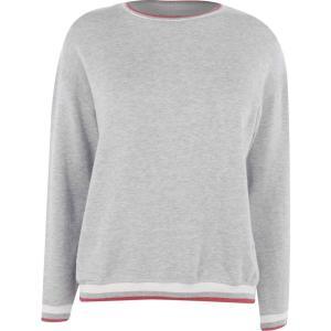 ベルベット グラハム&スペンサー Velvet レディース Tシャツ トップス Athlete T Shirt Heather Grey|fermart3-store