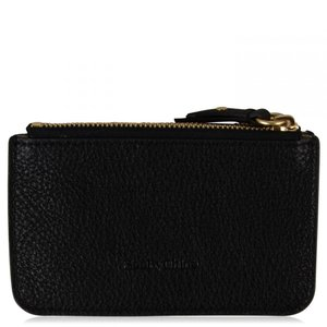 クロエ See By Chloe レディース カードケース・名刺入れ Larry Zip Card Holder Black|fermart3-store
