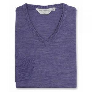 ダブルTWO Double TWO メンズ ニット・セーター トップス Long Sleeved V Neck Sweater Heather|fermart3-store