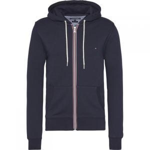 トミー ヒルフィガー Tommy Hilfiger メンズ パーカー トップス Core Cotton Full Zip Hoodie Navy|fermart3-store