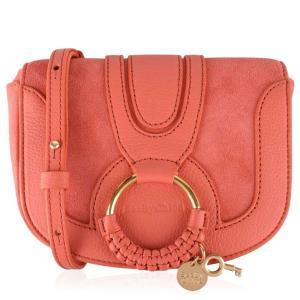 クロエ See By Chloe レディース バッグ Mini Hana Bag Wooden Pink AL|fermart3-store