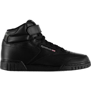 リーボック Reebok メンズ スニーカー シューズ・靴 exofit hi top trainers Black|fermart3-store