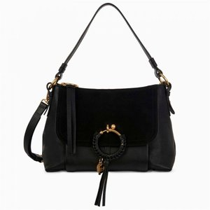クロエ See By Chloe レディース トートバッグ バッグ Joan Medium Tote Bag Black|fermart3-store