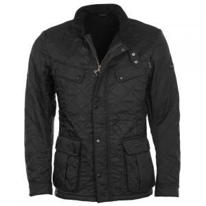 バーブァー Barbour International メンズ ジャケット アウター Barbour Ariel Padded Quilted Jacket Black|fermart3-store