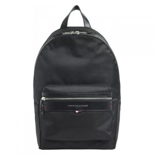 トミー ヒルフィガー Tommy Hilfiger メンズ バックパック・リュック バッグ Elevate Backpack Black|fermart3-store
