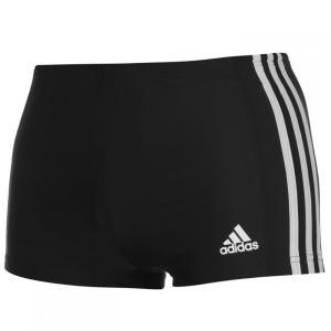 アディダス adidas メンズ 海パン 水着・ビーチウェア 3S Infinitex Drive Boxer Trunks Black/White|fermart3-store