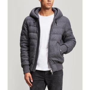 モンクレール Moncler メンズ ジャケット アウター Renoir Quilted Wool and Cashmere-Blend Jacket|fermart3-store
