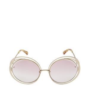 クロエ Chloe ユニセックス メガネ・サングラス Carlina Sunglasses Ivory|fermart3-store