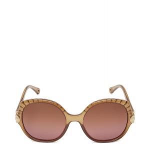 クロエ Chloe ユニセックス メガネ・サングラス Vera Sunglasses Brown|fermart3-store