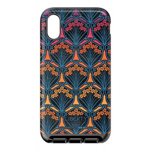 リバティ Liberty London レディース iPhone (X)ケース x Tech21 Evo Luxe Iphis Dawn iPhone X/XS Case|fermart3-store
