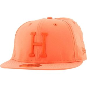 ハフ HUF メンズ 帽子 キャップ Huf 3M Reflective Neon Orange New Era Fitted Cap|fermart3-store