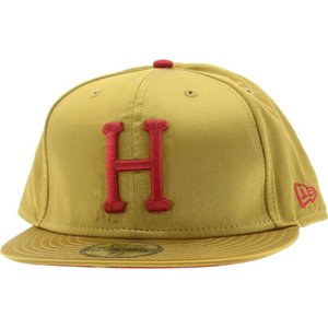 ハフ HUF メンズ 帽子 キャップ Huf Satin Gold New Era Fitted Cap|fermart3-store