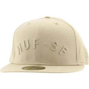 ハフ HUF メンズ 帽子 キャップ Huf Arch SF New Era Fitted Cap|fermart3-store