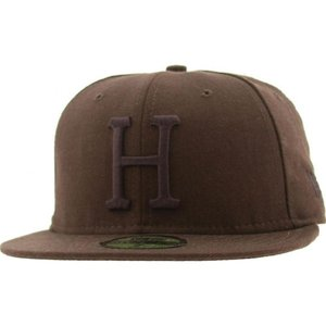 ハフ HUF メンズ 帽子 キャップ Huf Tonal USA H New Era Fitted Cap|fermart3-store